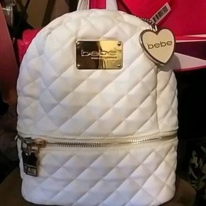 🔥💎Bebe Mid Size Quilted Backpack NWOT